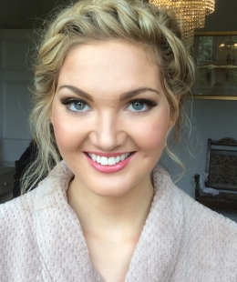 Bridal hair and makeup by Sandra Cormack Professional Hair and Makeup
